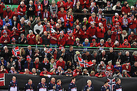 SPEED SKATING: HAMAR: Vikingskipet, 04-03-2017, ISU World Championship Allround, Norwegian spectators, ©photo Martin de Jong