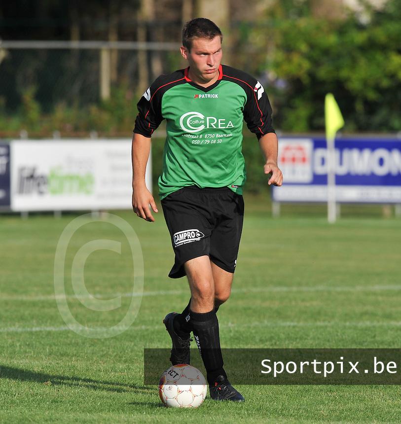 SC Beernem : Thomas Van Kerrebrouck.foto VDB / BART VANDENBROUCKE
