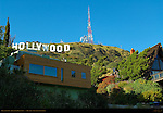 Hollywood Sign, Hollywood Hills Summit, Mount Lee, Los Angeles, California