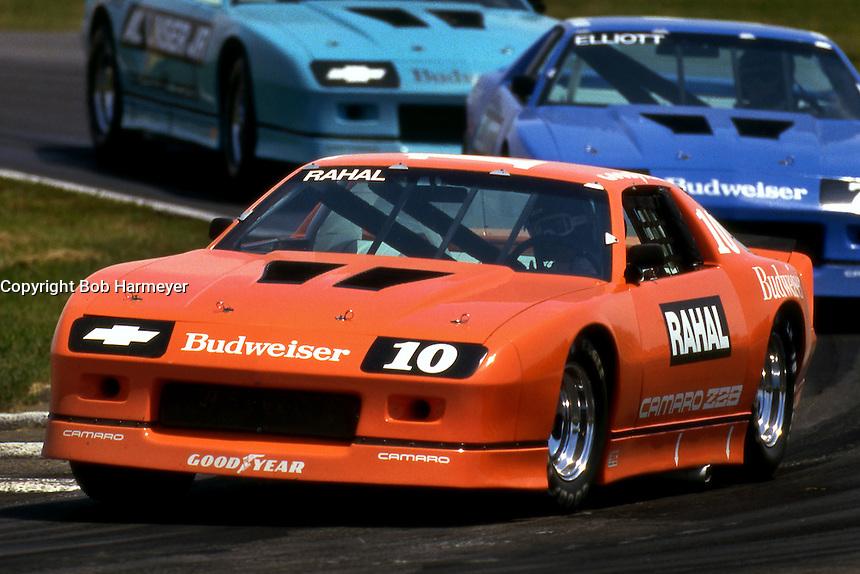 Mid Ohio Sportscar Course >> Bobby Rahal, Bill Elliott, Al Unser, Jr. 1987 IROC, Mid-Ohio   Bob Harmeyer