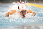 26 MAR 2011: Bobby Bollier of Stanford University competes in the 200 Yard Butterfly during the Division I Men's Swimming and Diving Championship held at the University of Minnesota Aquatics Center in Minneapolis, MN. Bollier swam a 1:40.76 to take second in the event.  Carlos Gonzalez/ NCAA Photos