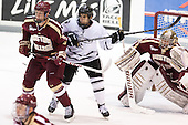 Michael Matheson (BC - 5), Stefan Demopoulos (PC - 12), Parker Milner (BC - 35) - The Providence College Friars tied the visiting Boston College Eagles 3-3 on Friday, December 7, 2012, at Schneider Arena in Providence, Rhode Island.