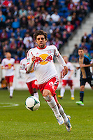 Juninho (8) of the New York Red Bulls. The New York Red Bulls defeated the Philadelphia Union 2-1 during a Major League Soccer (MLS) match at Red Bull Arena in Harrison, NJ, on March 30, 2013.