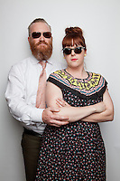 Lou and Bettie Pagewood are pictured at The 2012 Historic Houses Trust of NSW annual Fifties Fair at Rose Seidler House, Sydney. Picture James Horan