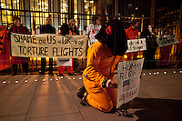 11.01.2013 - Vigil for the 11th Anniversary of Guantanamo Bay Detainment Camp