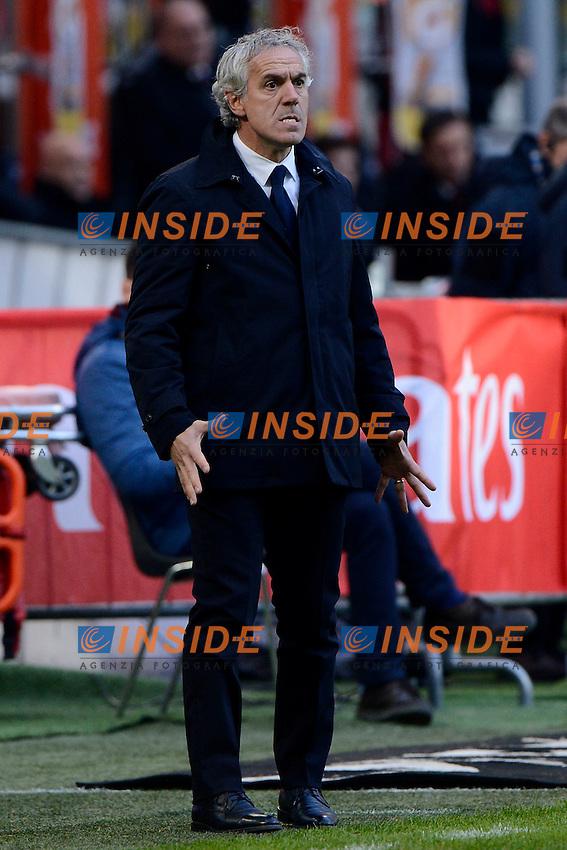 Roberto Donadoni Bologna<br /> Milano 6-01-2016 Stadio Giuseppe Meazza - Football Calcio Serie A Milan - Bologna. Foto Giuseppe Celeste / Insidefoto