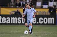 Sporting Kansas City midfielder Graham Zusi (8) Sporting Kansas City defeated D.C. United  1-0 at RFK Stadium, Saturday March 10, 2012.