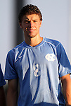 31 August 2012: UNC's Martin Murphy. The University of North Carolina Tar Heels defeated the West Virginia University Mountaineers 1-0 at Fetzer Field in Chapel Hill, North Carolina in a 2012 NCAA Division I Men's Soccer game.