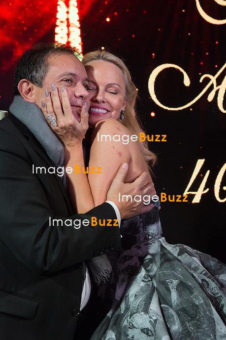 Edouard Nahum &amp; Pamela Anderson : &quot; The Best &quot; 40th Edition &agrave; l'h&ocirc;tel George V.<br /> France, Paris, 27 janvier 2017.<br /> ' The Best ' 40th Edition at the George V hotel in Pais.<br /> France, Paris, 27 January 2017