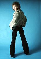 Eddie Jobson studio session 1973. Credit: Ian Dickson/MediaPunch