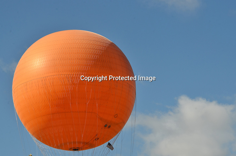 Stock photo of large helium filled ballon