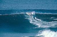 Hawaiian Surfer Shane Dorian (HAW) competing in the 1997 Rip Curl Pro at Bells Beach, Torquay, Victoria, Australia. Photo: joliphotos.com