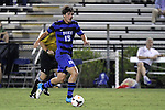 30 August 2013: Duke's Zach Mathers. The Duke University Blue Devils hosted the Rutgers University Scarlet Knights at Koskinen Stadium in Durham, NC in a 2013 NCAA Division I Men's Soccer match. The game ended in a 1-1 tie after two overtimes.