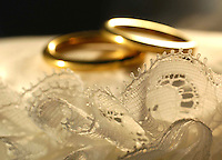 Fedi nunziali. Wedding rings..