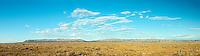 Aubrey Cliffs from Route 66 outside, Seligman, Arizona, ranchland, panorama