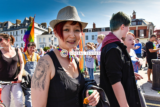 Huge crowds from all over Europe gather together in the seaside town of Margate to celebrate Kent Pride.