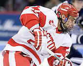 Ross Gaudet (BU - 22) - The Boston University Terriers defeated the visiting University of Toronto Varsity Blues 9-3 on Saturday, October 2, 2010, at Agganis Arena in Boston, MA.