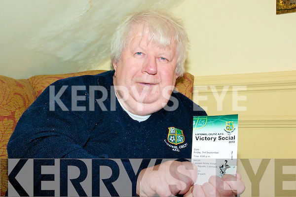 Listowel Celtic Annual Social: Attending the Listowel Celtic Annual Social at teh Listowel Arms Hotel on Friday night last was long term fundraiser for Listowel Celtic Martin Hickey.