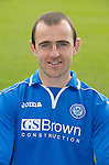 St Johnstone FC 2013-14<br /> Dave Mackay<br /> Picture by Graeme Hart.<br /> Copyright Perthshire Picture Agency<br /> Tel: 01738 623350  Mobile: 07990 594431