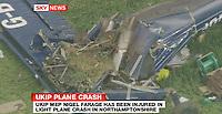 06/05/2010 Farage hurt in plane crash