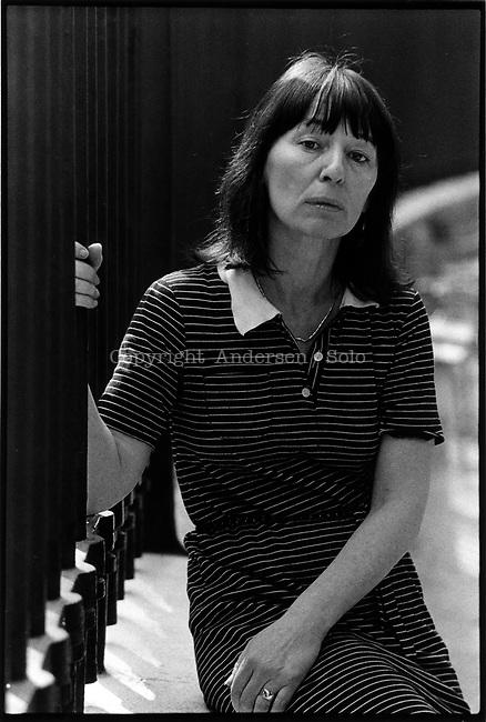 Beryl Bainbridge, English writer in may 1981.