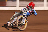 krzysztof Kasprzak of Lakeside Hammers - Lakeside Hammers vs Wolverhampton Wolves, Elite Shield Speedway at the Arena Essex Raceway, Purfleet - 26/03/10 - MANDATORY CREDIT: Rob Newell/TGSPHOTO - Self billing applies where appropriate - 0845 094 6026 - contact@tgsphoto.co.uk - NO UNPAID USE.