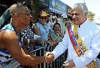 Colombians celebrated the Colombia's 202th Independence Day parade in Queens New York, July 23, 2012. Photo by Joana Toro / VIEWpress.