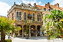 The Bailiwick (court) of Aire sur la Lys was originally built in 1600 and now is used as a tourist information office - Normandy, France.