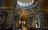 ROME-MAY 1: Saint Peters Basilica in the Vatican is filled with tens of thousands as they pass the remains of Blessed Pope John Paul II on the day of his Beatification on May 1, 2011.