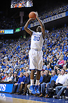 UK's Doron Lamb shoots a three pointer during the first half of the University of Kentucky Men's basketball game against Tennessee at Rupp Arena in Lexington, Ky., on 2/8/11. Uk led at half 35-28. Photo by Mike Weaver | Staff