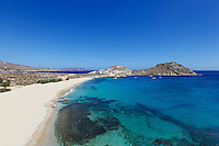 Agia Anna is one of the most exotic beaches in Mykonos, Greece