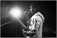 Marcus Miller at Howard at Theatre 9/19/12 B/W