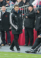 20 October 2012: Montreal Impact head coach Jesse Marsch during an MLS game between the Montreal Impact and Toronto FC at BMO Field in Toronto, Ontario..The game ended in a 0-0 draw..