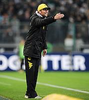 FUSSBALL   1. BUNDESLIGA   SAISON 2011/2012    15. SPIELTAG Borussia Moenchengladbach - Borussia Dortmund        03.12.2011 Trainer Juergen KLOPP (Dortmund)