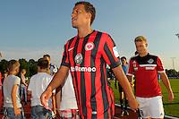 Football: Germany, 1. Bundesliga, Eintracht Frankfurt - Timothy Chandler