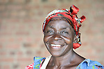 A woman in Kaminsamba, Democratic Republic of the Congo.