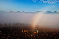 Vietnam Images-landscape-people-Moc Chau.