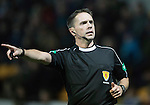 St Johnstone v Rangers&hellip;28.12.16     McDiarmid Park    SPFL<br />Referee Crawford Allan<br />Picture by Graeme Hart.<br />Copyright Perthshire Picture Agency<br />Tel: 01738 623350  Mobile: 07990 594431