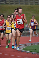 Cameron Avery in action during the Athletics - NZ Track and Field Championships at Newtown Park, Newtown, New Zealand on Friday 6 March 2015. <br /> Photo by Masanori Udagawa. <br /> www.photowellington.photoshelter.com.