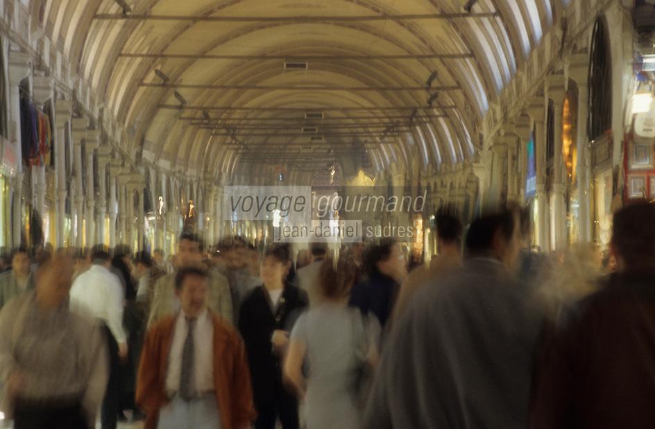 Europe/Turquie/Istanbul : Le grand Bazar