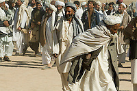 Over 14,000 elders attend a tribal 'jirga' or gathering to hear the case from the charity POM354 to grow pomegranates instead of opium. Addressing the event were James Brett (CEO of POM354) and Lord Reading the patron of the charity.