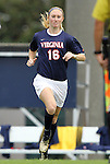25 September 2011: Virginia's Maggie Kistner. The University of Virginia Cavaliers defeated the University of North Carolina Tar Heels 1-0 in overtime at Fetzer Field in Chapel Hill, North Carolina in an NCAA Division I Women's Soccer game.