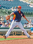 20 March 2015: Houston Astros pitcher Kevin Chapman on the mound during Spring Training action against the Washington Nationals at Osceola County Stadium in Kissimmee, Florida. The Astros fell to the Nationals 7-5 in Grapefruit League play. Mandatory Credit: Ed Wolfstein Photo *** RAW (NEF) Image File Available ***
