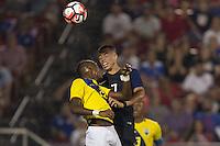 Frisco, TX. - May 25, 2016: The U.S. Men's national team defeat Ecuador 1-0 in an international friendly match at Toyota Stadium.