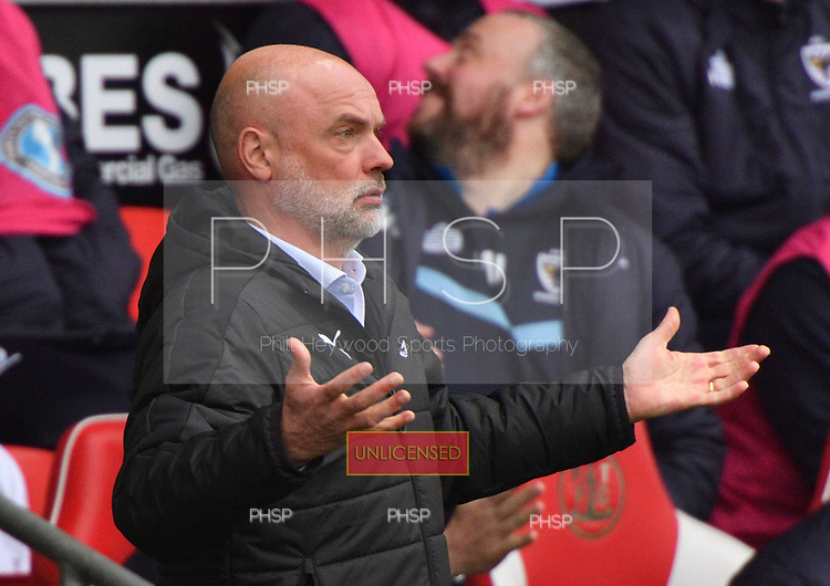 18/03/2017 Sky Bet League 1 Fleetwood Town v AFC Wimbledon<br /> <br /> Fleetwood Town manager,Uwe Rosler