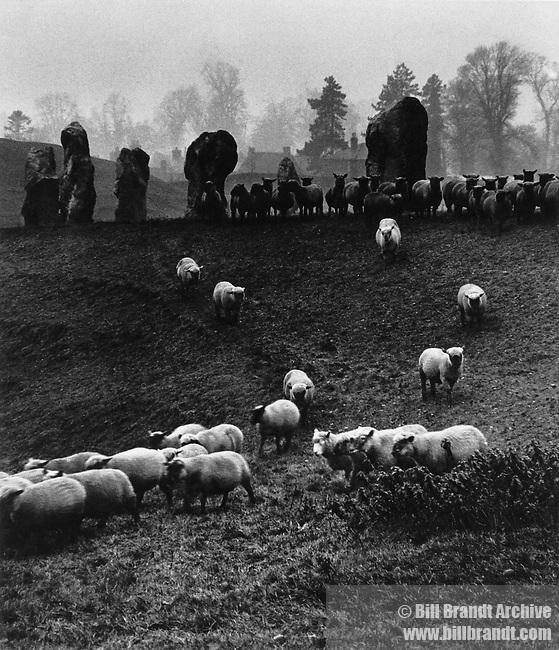 Avebury stone circle, Wiltshire, 1944