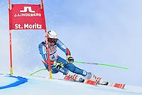 February 17, 2017: Henrik KRISTOFFERSEN (NOR) competing in the men's giant slalom event at the FIS Alpine World Ski Championships at St Moritz, Switzerland. Photo Sydney Low