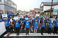 Picture by Alex Whitehead/SWpix.com 12/05/2017 -  Tour Series Round 3 Northwich - Men's Race - Mascots