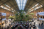 Atocha Railway Station, Madrid, Spain
