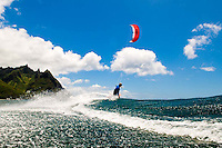 Kitesurfing photographs